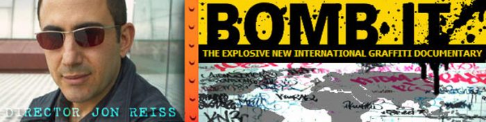 Director Jon Reiss – Bomb It