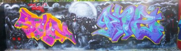 Halloween_Graffiti_Mural