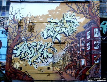 46_NY_Brownstones_Mural