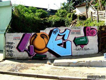 Brazil Graff Art 1