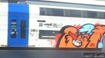 Character Art On Train