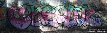 Graffiti_On_Corrugated_Fence