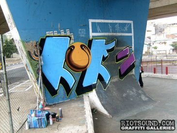 Graffiti Piece 3