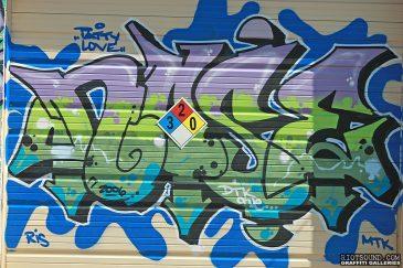 Graffiti_Piece_On_Gate