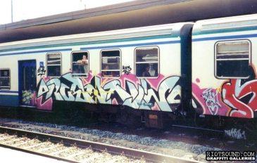 Graffiti Train Europe