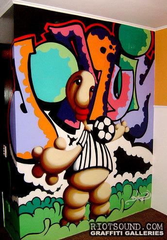 Indoor Graffiti Piece 1