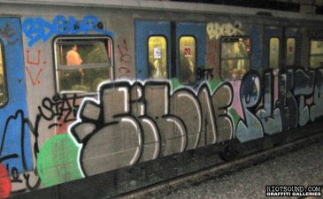 Italian Subway Art