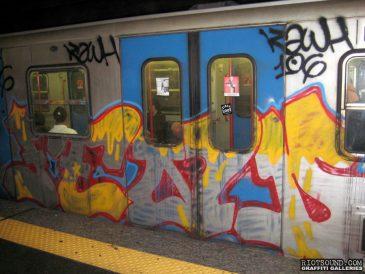 Subway Art In Rome