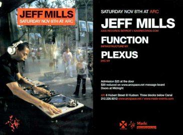 JeffMillsArcNovember2003
