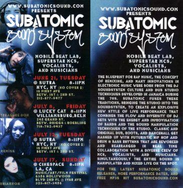 SubatomicSoundJUL2005