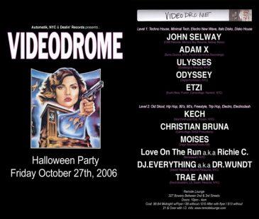 Videodrome-OCT-2006